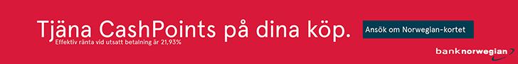 Bank Norwegian CashPoints